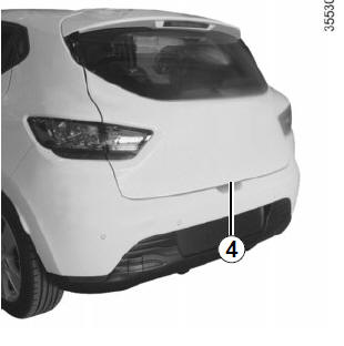 Renault Clio. Unlocking the vehicle