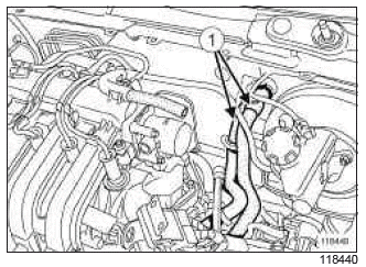 Renault Clio. Engine - gearbox assembly: Removal - Refitting