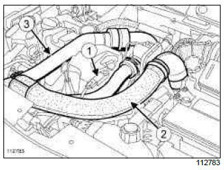 Renault Clio. Injector leak flow: Check