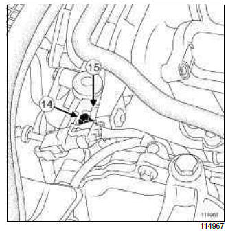 Renault Clio. Inlet distributor: Removal - Refitting