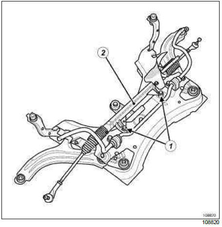 Renault Clio. Power-assisted steering
